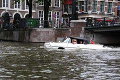 Amphibious vehicle Stock Images