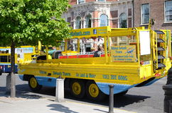 Amphibious Vehicle in Dublin, Ireland Royalty Free Stock Photography