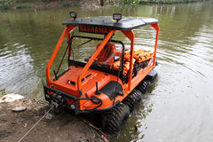Amphibious vehicle Royalty Free Stock Images