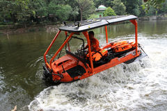 Amphibious vehicle Royalty Free Stock Photography
