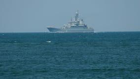 Amphibious warships to naval exercises