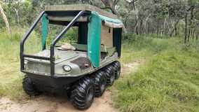 Amphibious 8 wheel Drive All Terrain Vehicle Royalty Free Stock Image