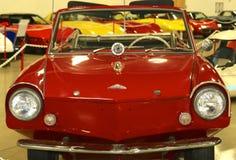 1967年Amphicar古董车正面图  图库摄影