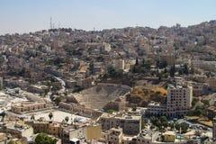Amphietheatre in Amman, Jordan Royalty Free Stock Image