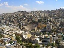 Amphietheatre in Amman, Jordan Royalty Free Stock Photo