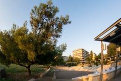 Amphiitheater près d'un parc Image libre de droits