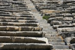 Amphiteater i Milet Royaltyfri Fotografi