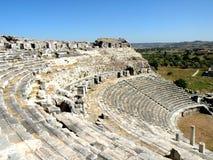 Amphiteather, Milet, Minor Asia Royalty Free Stock Photo