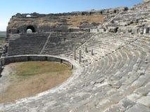 Amphiteather in Milet, Minor Asia 6 Stock Images