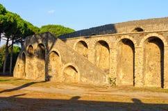 Amphiteatre à Pompeii photos stock