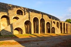 Amphiteatre à Pompeii images stock