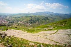Amphiteatre, Pergamon Zdjęcia Stock