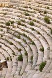 Amphithéâtre antique de ville de la Turquie Patara Photo libre de droits