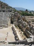Amphithéâtre dans Gordes Demra Images stock
