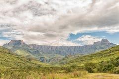 Amphithéâtre dans le Kwazulu Natal Drakensberg Photographie stock libre de droits