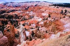 Amphithéâtre de Bryce Canyon National Park Photos libres de droits