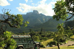 Amphithéâtre de Drakensberg Photos stock