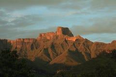 Amphithéâtre de Drakensberg Images libres de droits