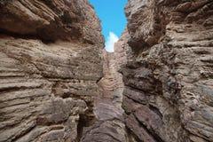 Amphithéâtre de formation de roche, EL Cafayate, Salta, Argentine Images libres de droits
