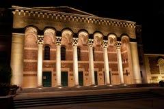 Amphithéâtre de mémorial de Sacramento Photographie stock libre de droits