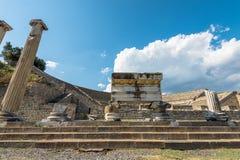 Amphithéâtre de Pergamos Images stock