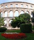 Amphithéâtre de Pula Photo stock