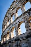 Amphithéâtre de Pula image libre de droits