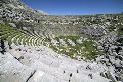 Amphithéâtre de Sagalassos dans Isparta, Turquie Image stock