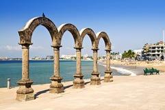 Amphithéâtre de visibilité directe Arcos dans Puerto Vallarta, Mexique Images stock