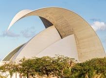Amphithéâtre en Santa Cruz, Ténérife, Espagne images libres de droits