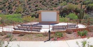Amphithéâtre extérieur Photo libre de droits