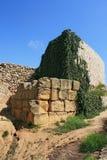 Amphithéâtre romain à Tarragona Photographie stock libre de droits