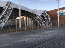 Amphithéâtre sur Coney Island Image libre de droits