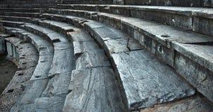 Amphitheatar in Stobi Stock Image