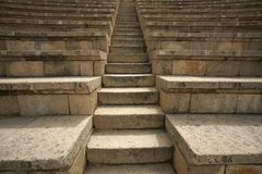 amphitheate Καισάρεια Ισραήλ στοκ εικόνες