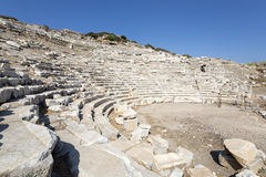 Amphitheate of Knidos in Datca, Mugla Stock Photo