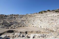 Amphitheate van Knidos in Datca, Mugla Stock Afbeeldingen