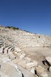Amphitheate von Knidos in Datca, Mugla Stockbild