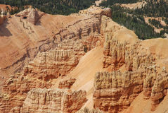 The Amphitheater. Landscape image of amphitheater rock formation at Cedar Breaks National Monument, Utah Stock Image