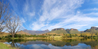 Amphitheater. Mont Aux Source amphitheater Drakenberg Mountains in South Africa Stock Photos