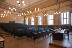 Amphitheater. Of Uppsala University in Sweden Stock Image