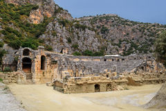 Amphitheater Royaltyfria Foton