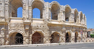 The amphitheater of arles Royalty Free Stock Photos