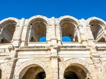 Amphitheater in Arles, Frankreich lizenzfreie stockfotos