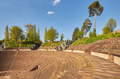 Amphitheater of Augusta Raurica Roman theater Stock Photo