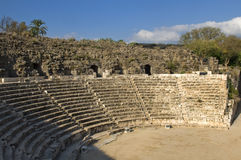 Amphitheater in Beit Shean, Israel Stock Images