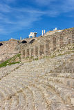 Amphitheater in Bergama Acropolis Stock Image