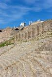 Amphitheater in Bergama Acropolis Stock Image