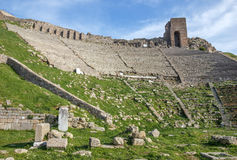 Amphitheater in Bergamo Royalty Free Stock Images