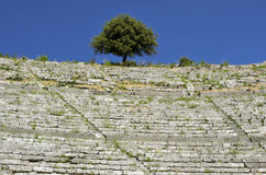 Amphitheater. Big Amphitheater in central Greece stock images